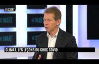 Jancovici : Climat, les leçons du choc Covid – Be Smart